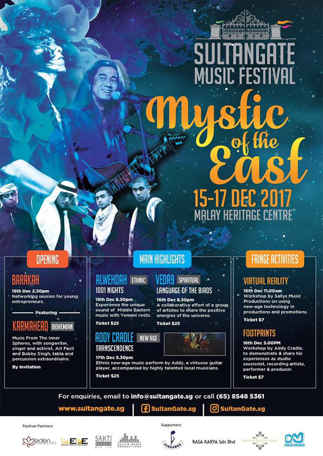 mystic of the east poster